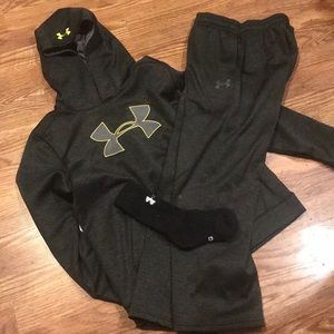 UNder armor outfit!